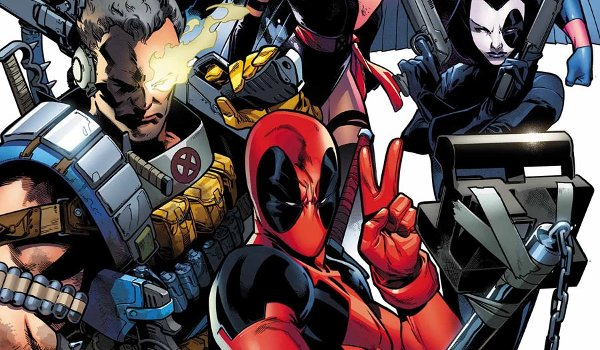 deadpool x-force comics
