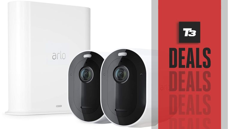 cheap arlo pro 3 security camera deal
