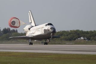Space Shuttle Discovery Lands Safely in Florida