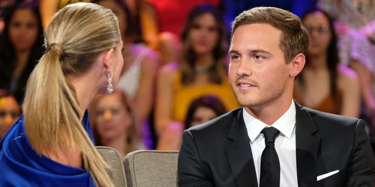 The Bachelorette 2019 finale Hannah Brown talks to Peter Weber ABC