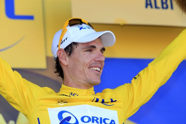 Daryl Impey on stage seven of the 2013 Tour de France