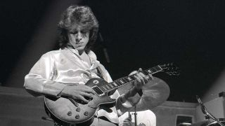 Mick Taylor onstage