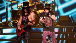 Slash and Axl