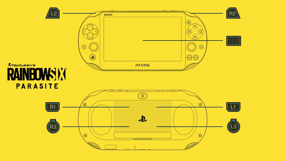Rainbow Six Parasite PlayStation Vita buttons leak
