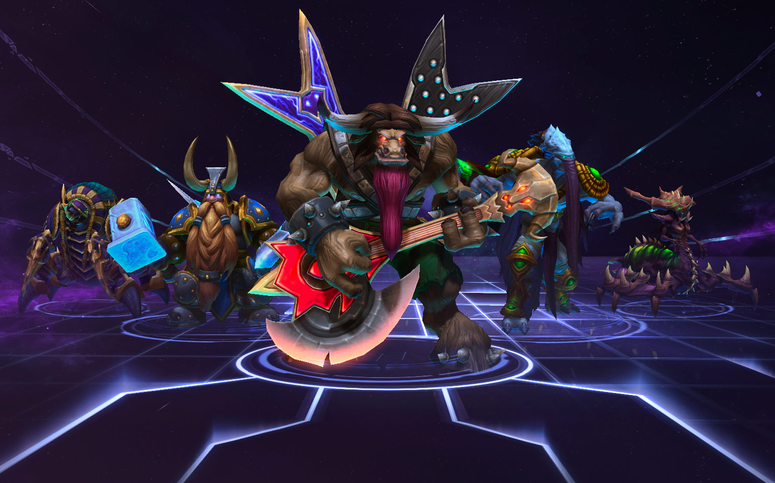 Heroes Of The Storm: Universes Collide In First Gameplay Trailer And Screenshots #29613