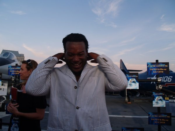 Comic Con: Aircraft Carrier Premiere Of Stargate Continuum #2842