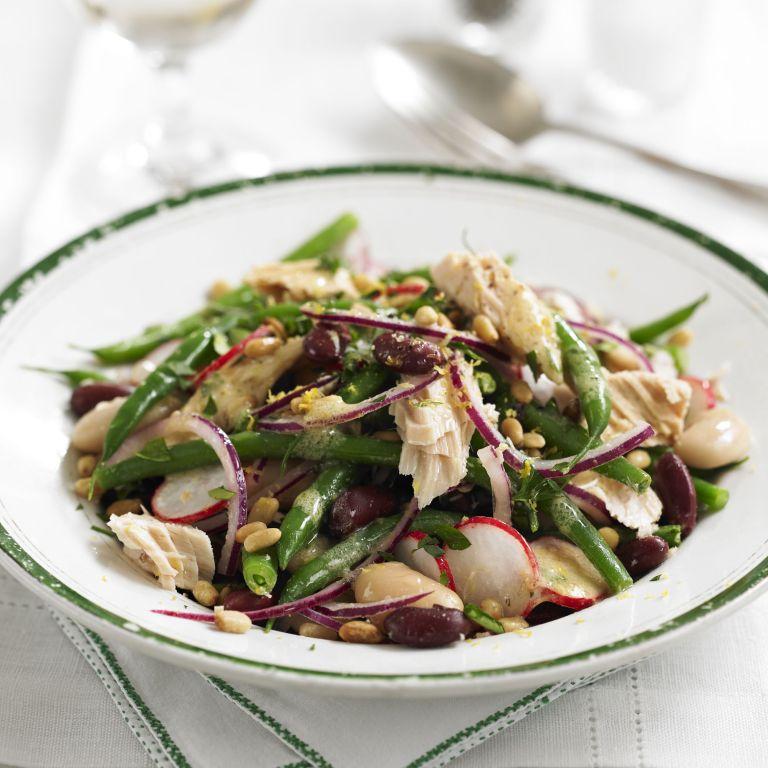 Tuna & 3 Bean Salad recipe-salad recipes--recipes-recipe ideas-new recipes-woman and home