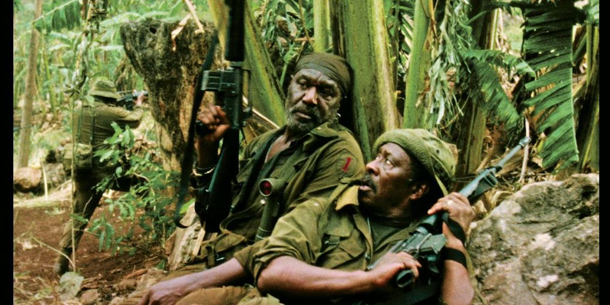 Delroy Lindo and Clarke Peter in Da 5 Bloods