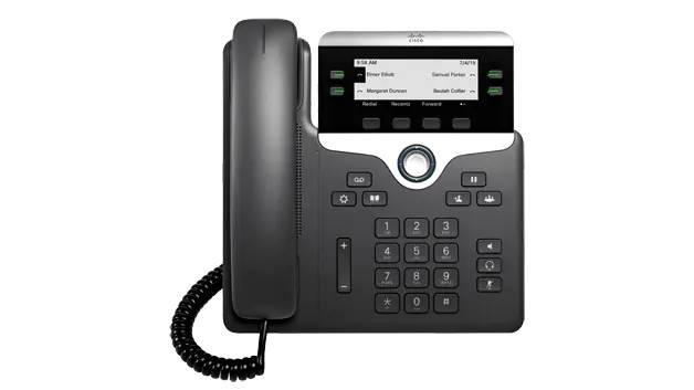 Cisco IP Phone 7800 range