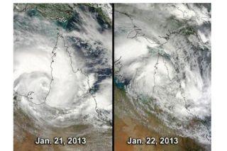 tropical cyclone Oswald, Australia storm