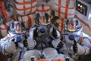 "Astronaut Massimino on ""The Big Bang Theory"""