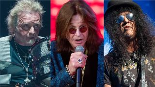 Aerosmith's Joey Kramer, Ozzy Osbourne and Guns N' Roses' Slash