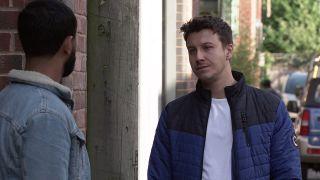 Ryan Connor confronts Zeedan.