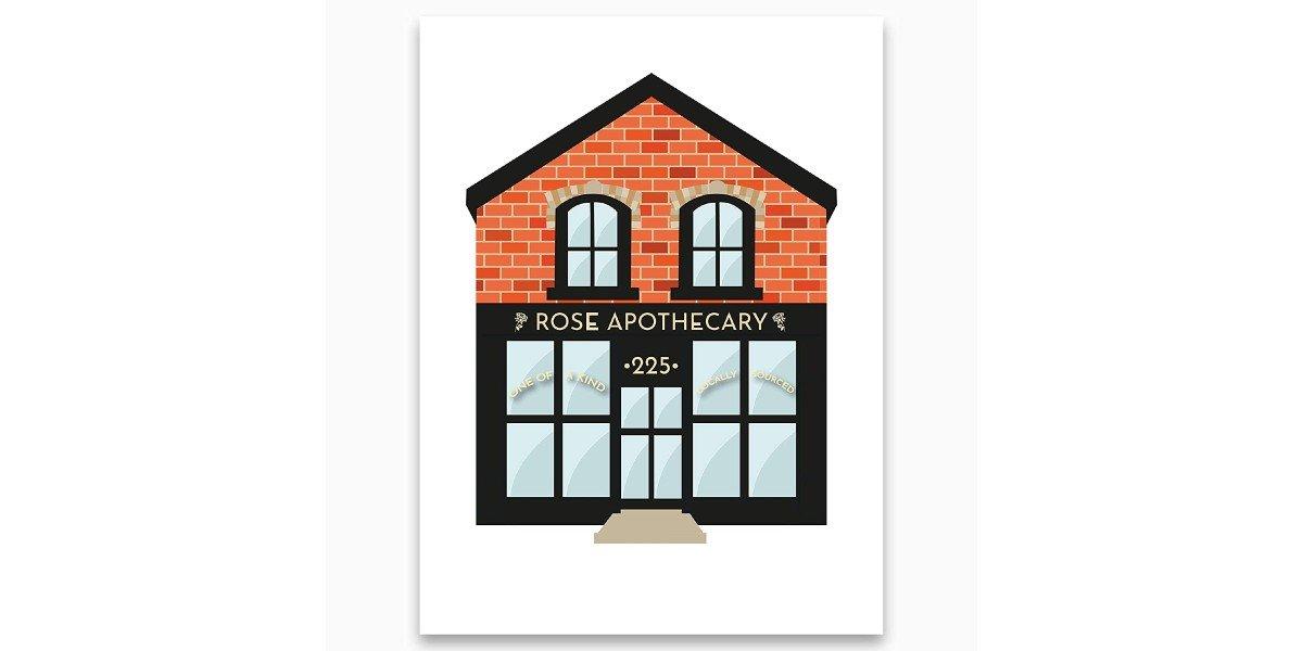 Rose Apothecary Art Print