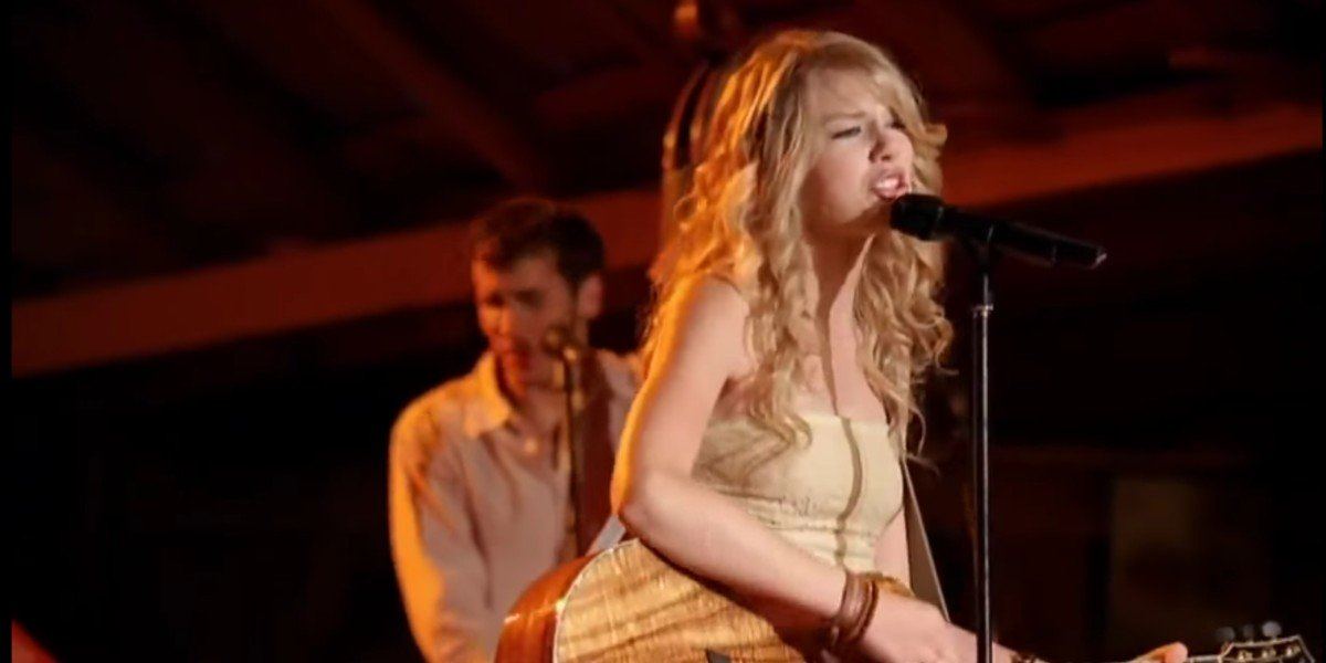 Taylor Swift in Hannah Montana: The Movie