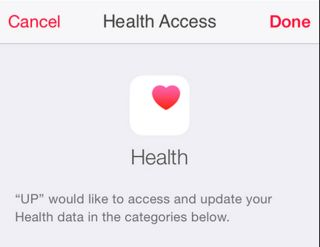 An image of the new Apple Health app.