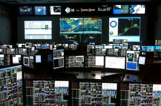 NASA's Space Shuttle Mission Control