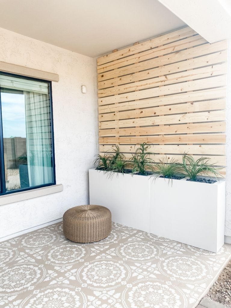 how to build a trellis with planter boxes