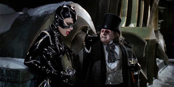 Catwoman and Penguin in Batman Returns
