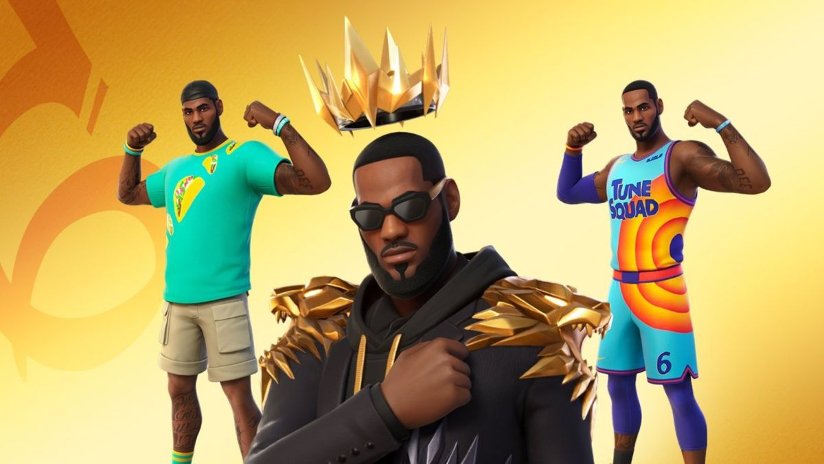 LeBron James joins Fortnite to promote Space Jam 2 and Taco Tuesday