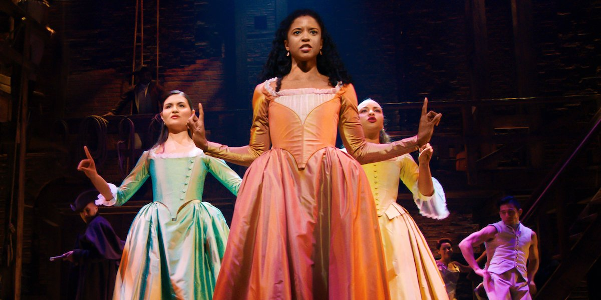 The Schuyler Sisters in Hamilton