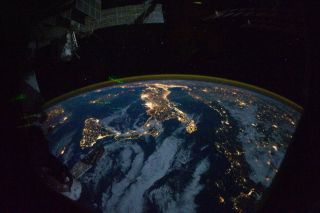 Earth at Night: Astronaut Shares Dazzling Photos From Space Station
