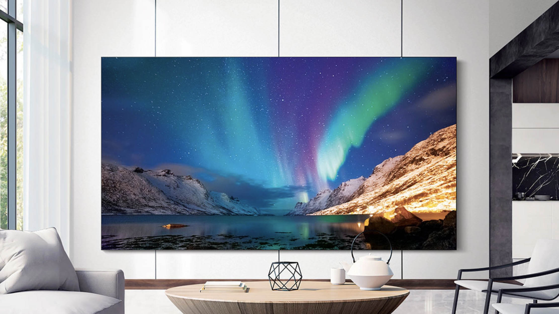The Wall Is Here You Can Now Put Samsung S 292 Inch Tv In Your Living Room Techradar