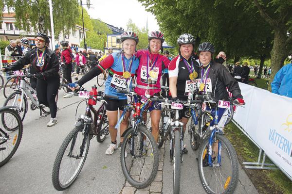 Vatternrundan sportive group 2012