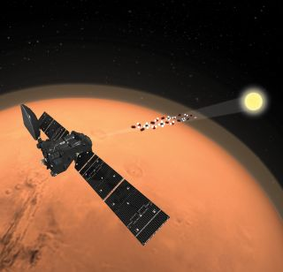 The ExoMars mission's Trace Gas Orbiter analyzed the Martian atmosphere, finding a surprising lack of traces of methane.