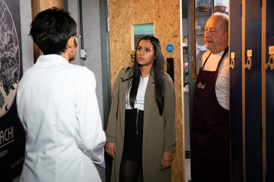 Coronation Street spoilers: Geoff Metcalfe continues to wind up Alya