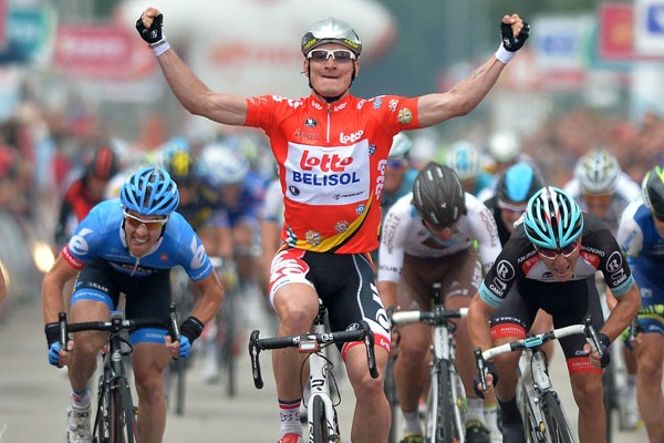 Andre Greipel wins stage four, Eneco Tour 2013, stage four