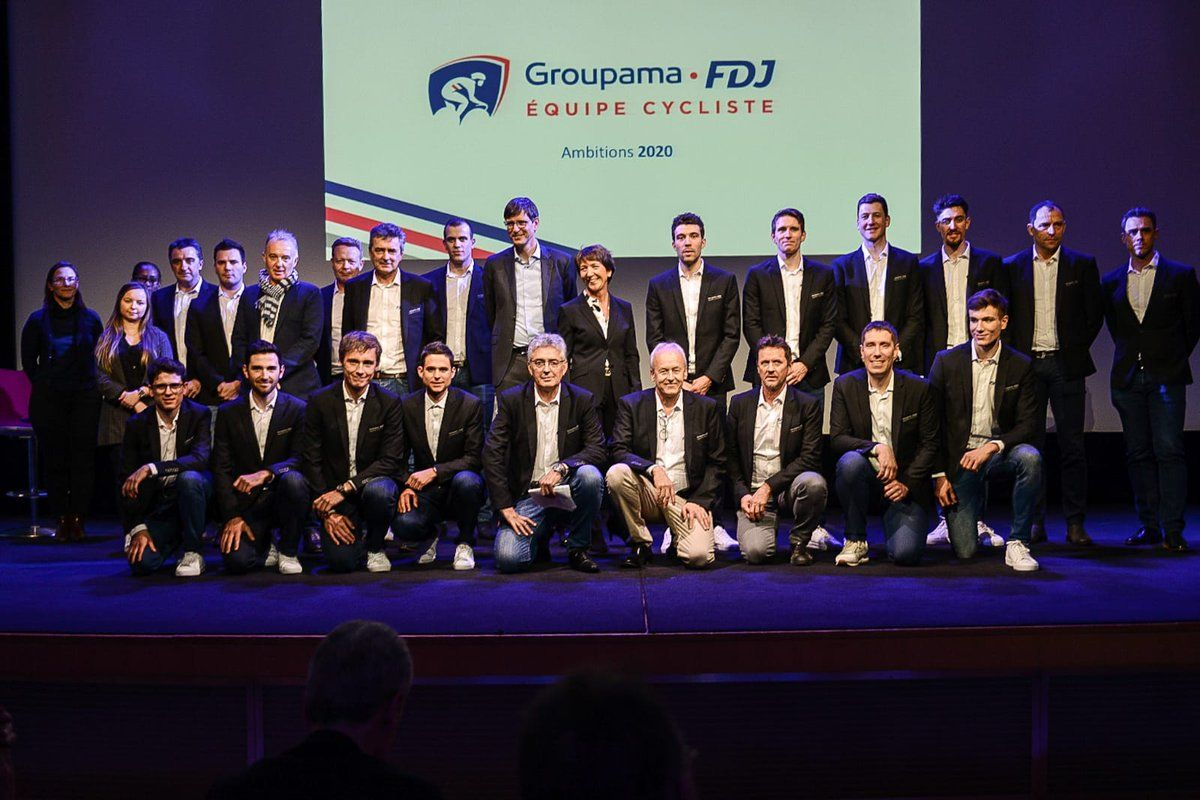 Groupama-FDJ present 2020 squad as Pinot targets Tour de France