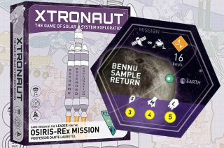 Xtronaut Space-Mission Board Game
