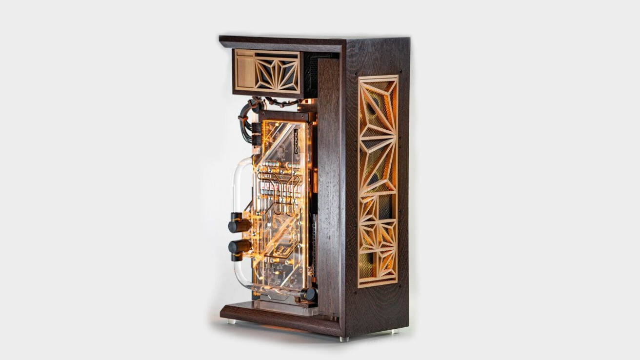 This incredible wooden PC is just the tip of the CoolerMaster Case Mod World Series iceberg