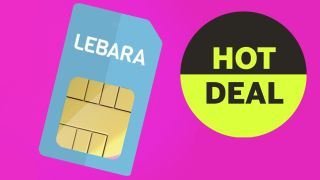 amazing Lebara £5 per month SIM only deal gives 2MB of data and international calls