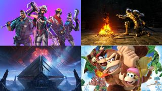 Fortnite Season 4, Dark Souls Remastered, Destiny 2 Warmind and Donkey Kong Country: Tropical Freeze
