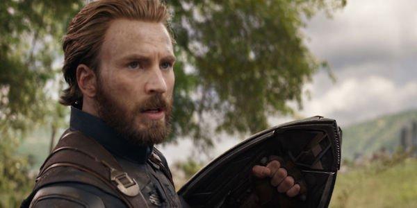 Captain America Chris Evans Avengers: Infinity War Marvel