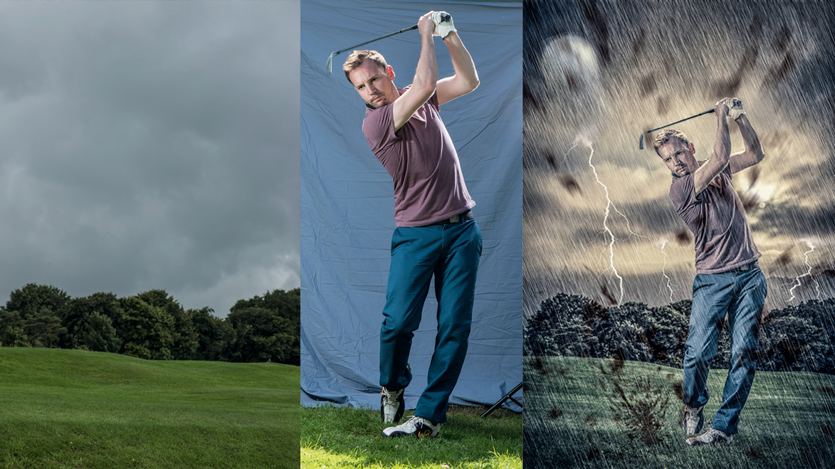 Home photography ideas: Shoot stunning sports self-portraits!