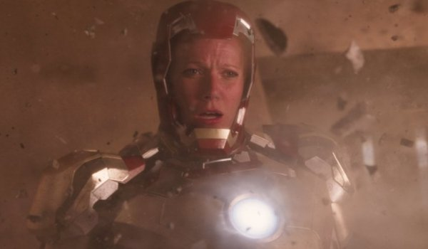 Iron Man 3 Pepper Potts in a suit of armor