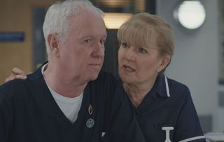 Charlie and Duffy in Casualty episode 11th May