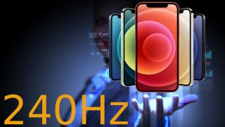 Apple iPhone 240Hz display