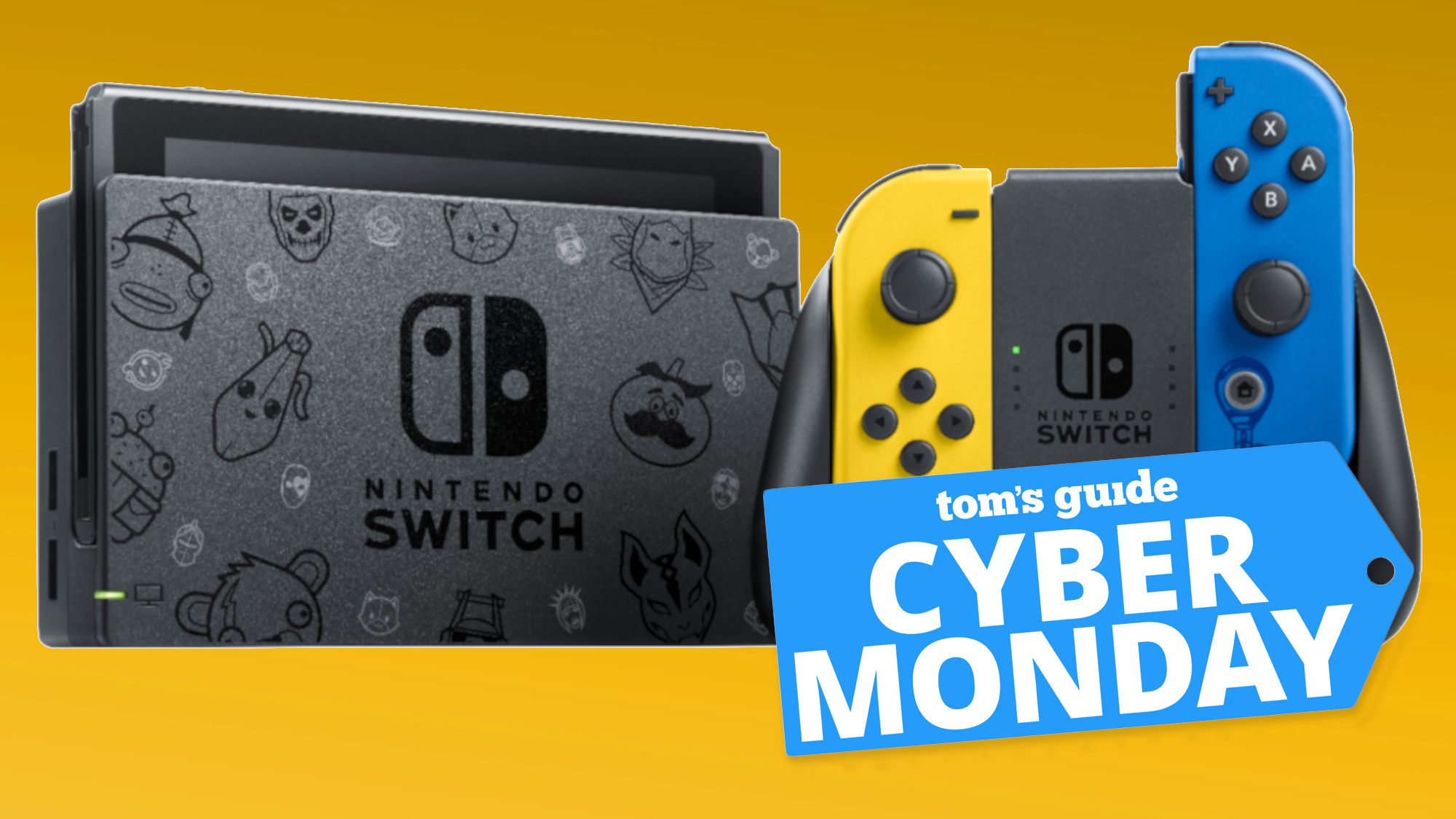Nintendo Switch Cyber Monday Deal Alert Fortnite Bundle In Stock Now Tom S Guide