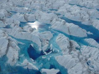 greenland, glaciers