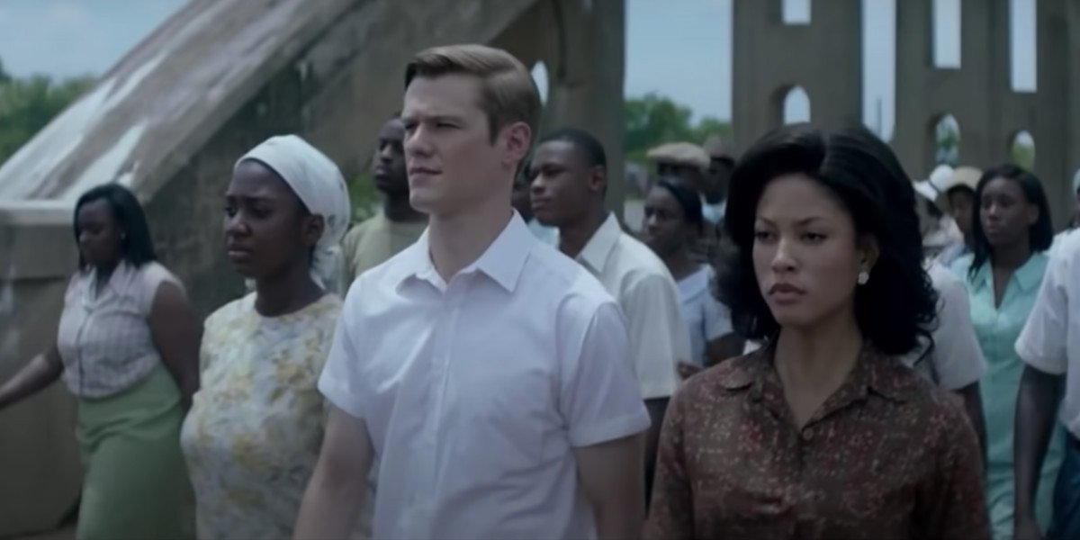 Lucas Till and Lex Scott Davis in Son of the South