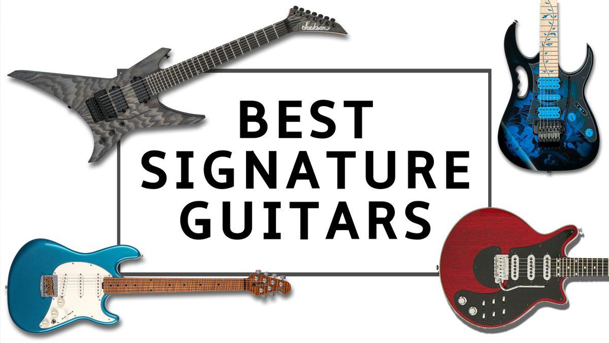 Best signature guitars 2020: top artist-endorsed guitars from Brian May, Steve Vai, EVH and more