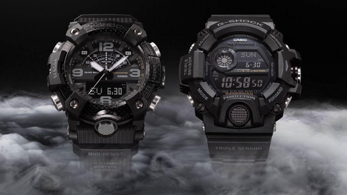 Enter stealth-mode with G-Shock's new Black-Out edition watches