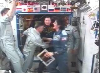 Weather Delays Space Station Crew's Landing