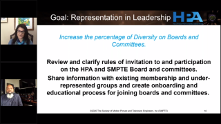 SMPTE 2020 diversity panel