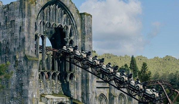 Hagrid's Magical Creatures Motorbike Adventure Universal Orlando