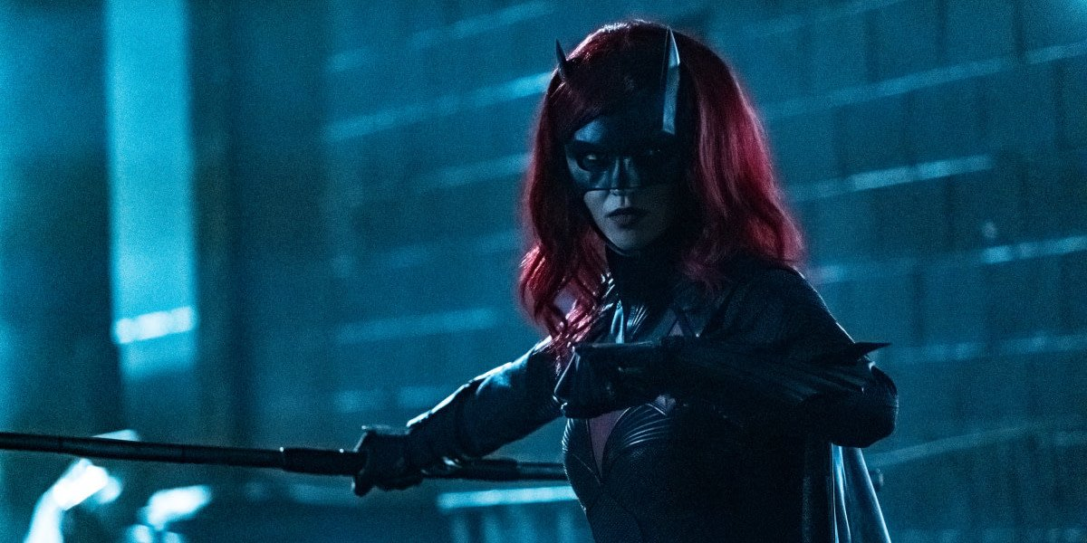 Ruby Rose suited up as Kate Kane Batwoman